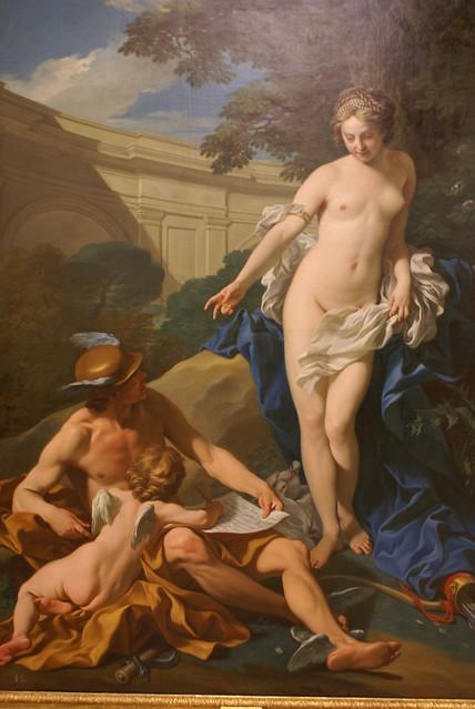 Venus, Mercurio y el Amor
