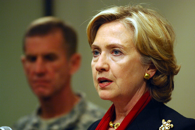 Secretary Clinton Travels to Afghanistan from Flickr via Wylio
