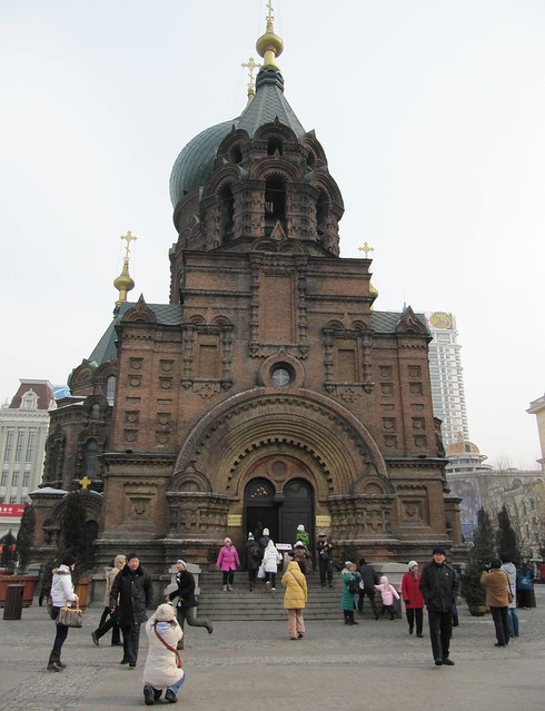 St Sophia's Russian Cathedral, Harbin by CC user ivanwalsh on Flickr