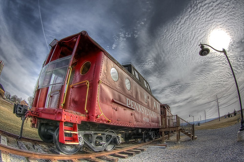 pennsylvania caboose hdr hdrsurreal hdrextremes hdraddicted firstclasshdr hdrcreativeshots