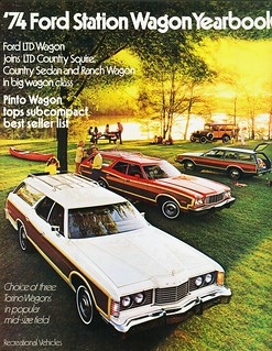 1974 Ford Station Wagons