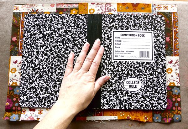 Diy Fabric Covered Composition Book : Composition book cover home remedies recipes and voodoo