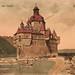 """Vintage picture postcard: """"Die Pfalz bei Caub"""" by wwwuppertal"""