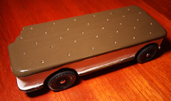 Ice Cream Sandwich - Pinewood Derby Car