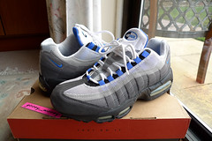 Nike Air Max 95  Black   Blue Crystal  (604116 042) ( 98).…  94c6f13df