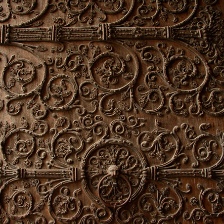 Insanely Ornate Door
