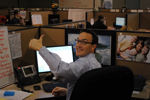 Jeff Gives a Thumbs Up!