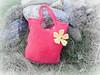 Tasche Fruehlingsblume