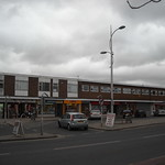 Shop parade along Wilmslow Road