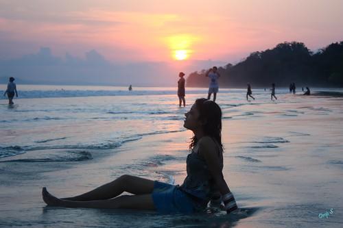 Kanu Relaxing @ Radha nagar Beach