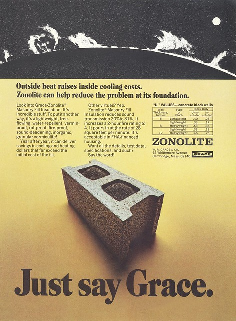 Zonolite Masonry Fill Insulation Flickr Photo Sharing