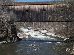 Kayakers at the Bulls Bridge
