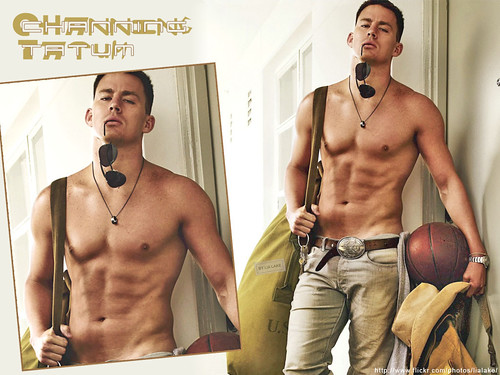 Wonderfull pics channing tatum shirtless wallpaper for Channing tatum tattoo side by side
