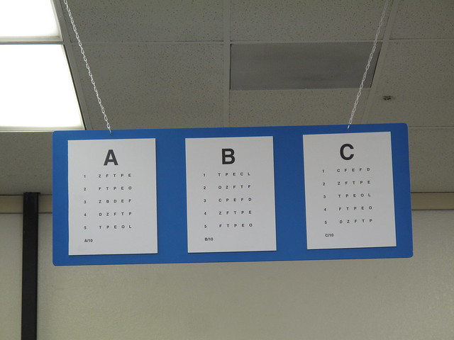Dmv Eye Charts 105 365 Flickr Photo Sharing