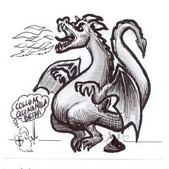 El Caballero y el Dragon
