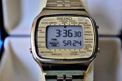 Seiko world time 1981