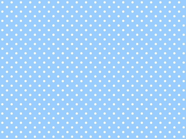 polkadotted background for twitter or other light blue