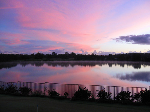 nature clouds sunrise golf queensland carbrook