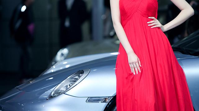 2010 Beijing Auto Show * Porsche Girl