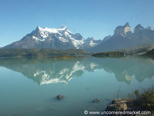 Reflections at Torres del Paine National Park - Chile
