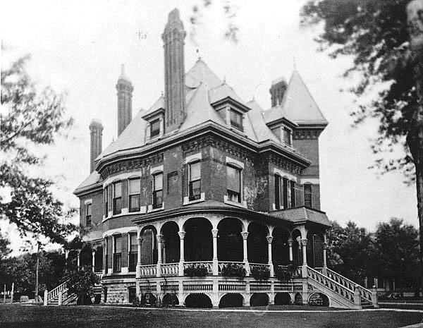 Pratt Campbell Mansion In Wichita Ks Designed Built By