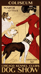 Chicago Kennel Club's Dog Show, advertising poster, 1902