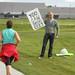 Yoo Can Dooo Eeet Sign - 2010 Eugene Marathon by Marc Osborn
