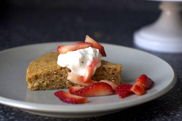 pecan cornmeal butter cake | Pecan Cornmeal Butter Cake on s ...