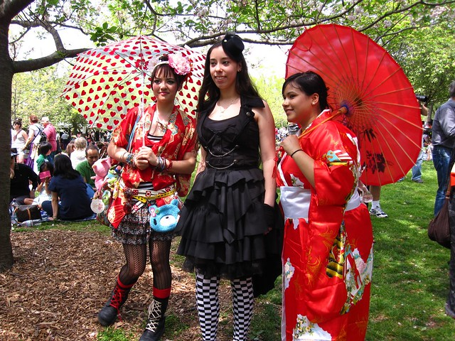 More lovely costumes at Sakura Matsuri 2010. Photo by Rebecca Bullene.