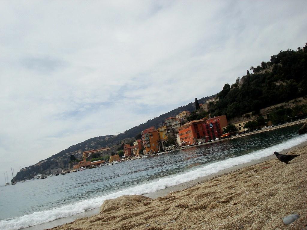 Villefranche: beach