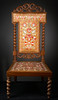 Birch Bark Chair, ca. 1832
