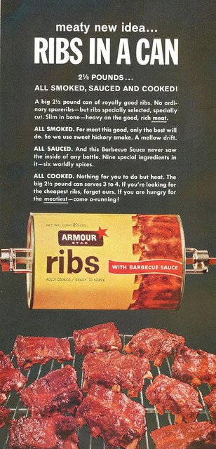 Ribs in a can!
