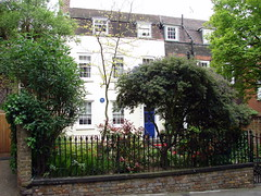 Photo of Walter Besant blue plaque