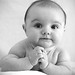 Baby Alfie portrait by itsonlymeagain