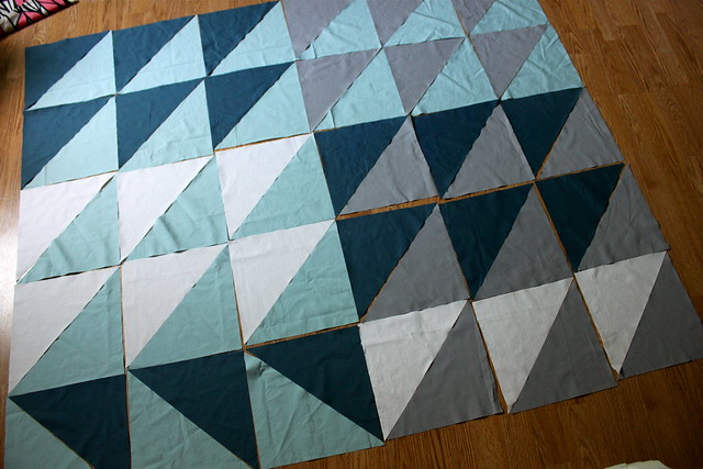 How to Sew a Flying Geese Quilt Pattern | eHow.com