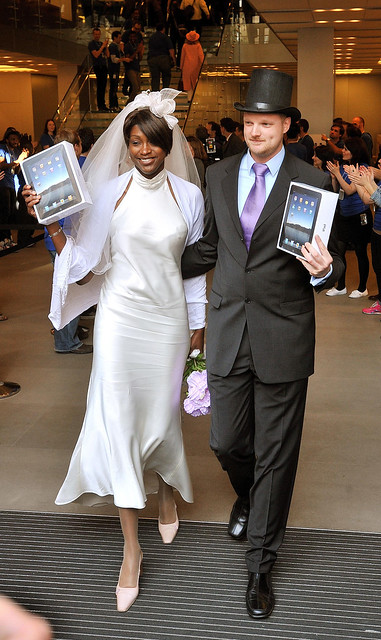 Wedding iPad