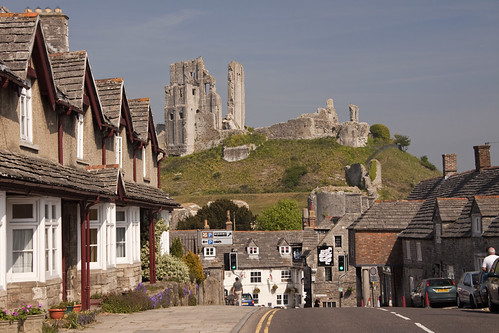 The village, Corfe Castle