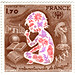 France postage stamp: Year of the Child