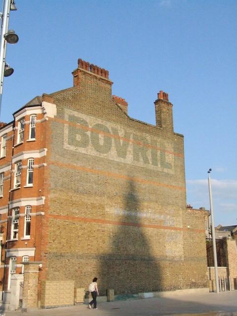 Ghost Sign - Bovril