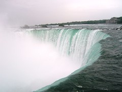 -Horseshoe Falls from the rim