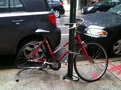 Sad bicycle