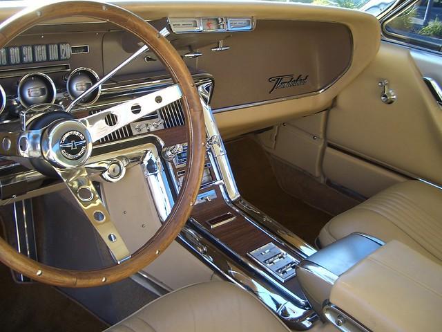 My 1965 ford thunderbird interior cockpit flickr for 1965 thunderbird power window motor