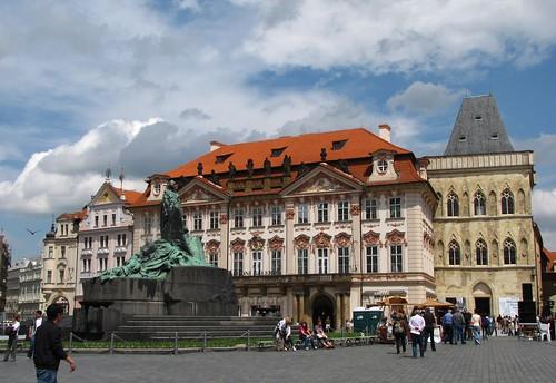 Kinsky Palace, Old Town, Prague, Czech Republic