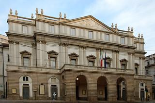 תמונה של Teatro alla Scala ליד Milano. italien italy milan italia milano scala italie mailand teatroallascala