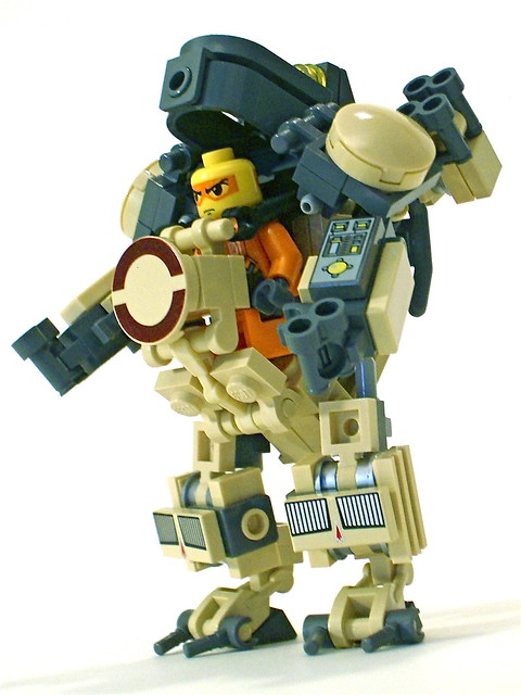 Mech Suit http://www.flickr.com/photos/51316280@N04/4717500262/
