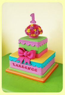 Girly Girl Birthday Cake