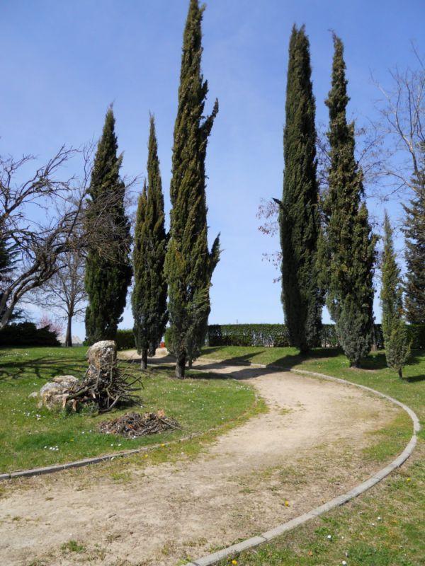 Villa de los cipreses