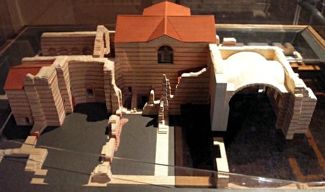 Model replica, Thermes de Cluny