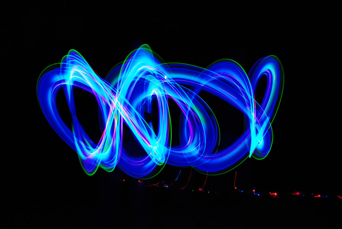 Slow Shutter Abstract