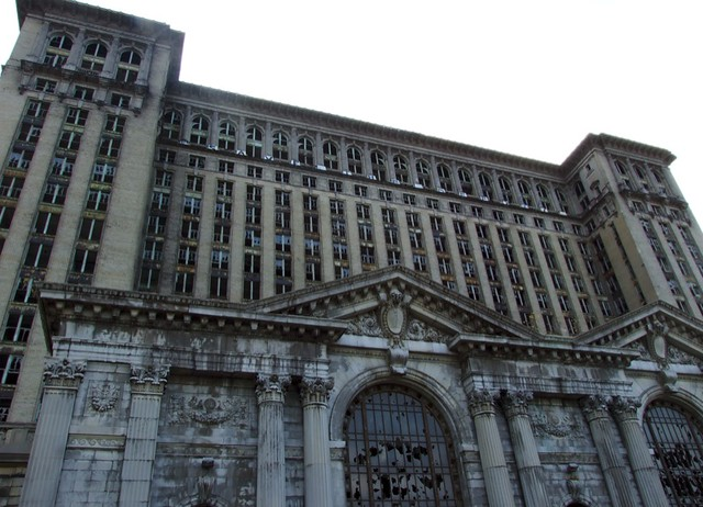 Michigan Central Station from Flickr via Wylio